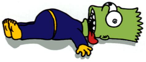 Bart simpson book report treasure island
